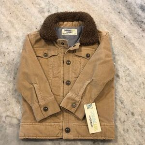 NWT OshKosh Genuine Kids corduroy jacket